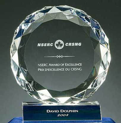 Dr David Dolphin's NSERC Award