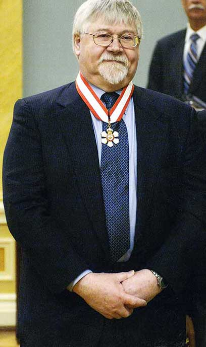 Dr David Dolphin Order of Canada